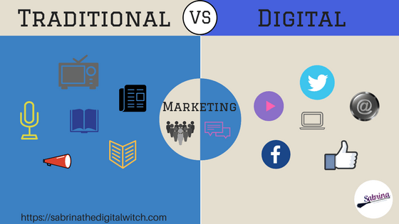 Digital Marketing vs Traditional Marketing. What are the differences?