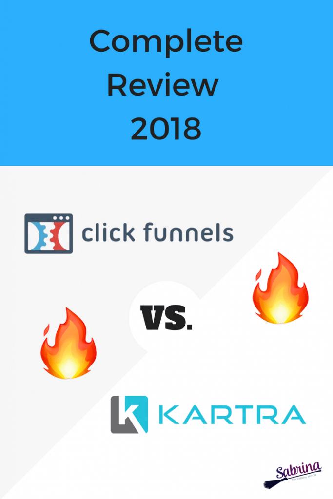 ClickFunnels VS Kartra, complete review 2018