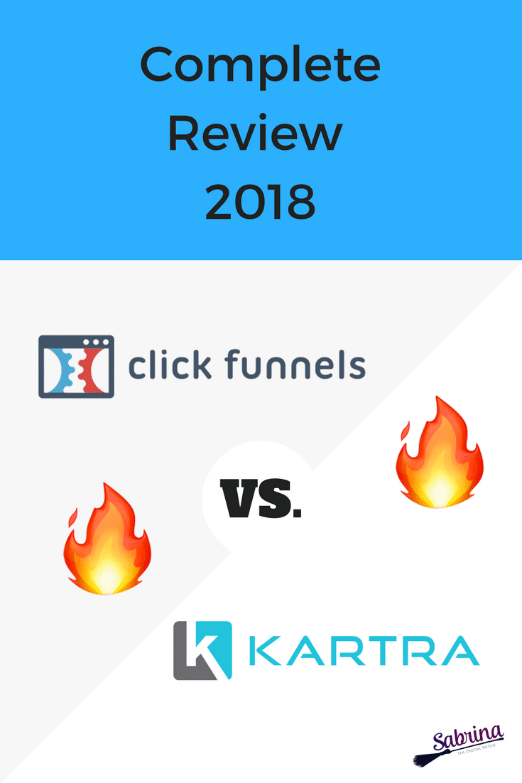 ClickFunnels VS Kartra, complete review 2018