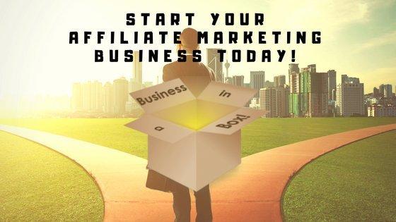 Affiliate Marketing Business in a box