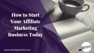 Affiliate Marketing Starter Pack