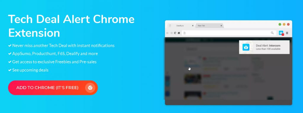 Never miss a deal with Tech Deal Alert Chrome Extension