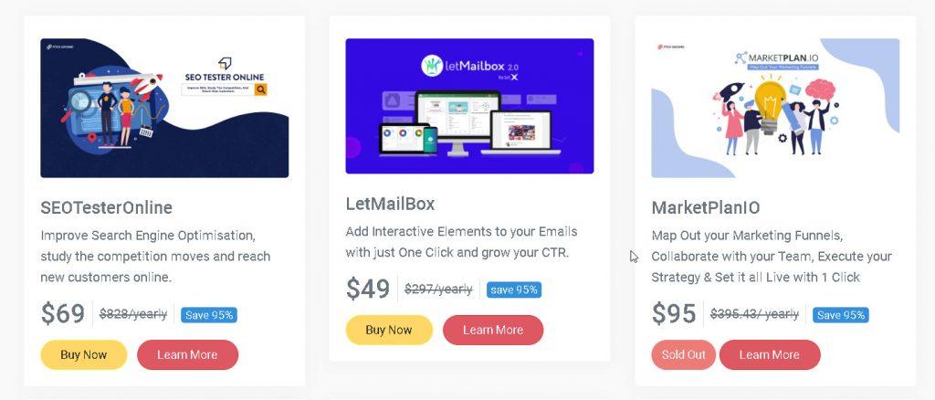 Pitchground, lifetime deals for online entrepreneurs