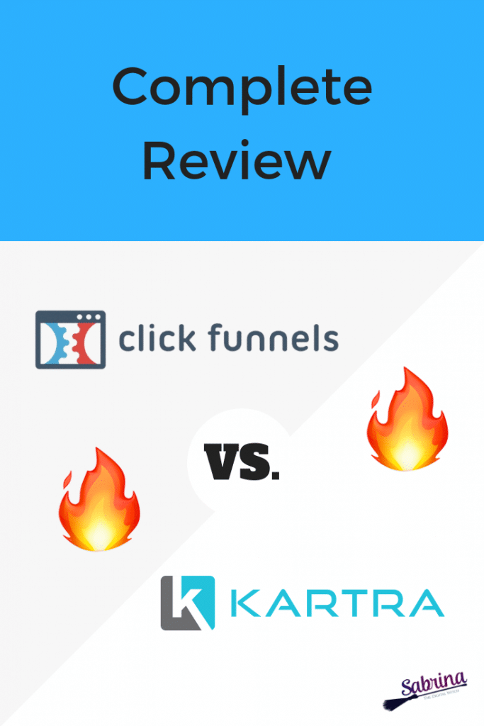 Clickfunnels versus Kartra -  total review