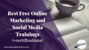 Best Free Online Marketing Courses for Online Businesses.
