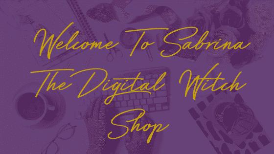 Sabrina The Digital Witch Shop
