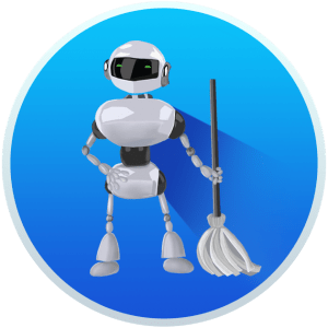 Robot cleaner illustration