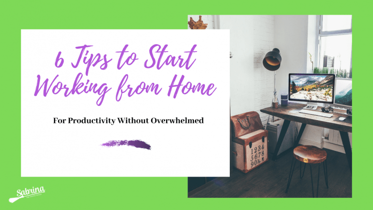 6 Tips to Start Organise Your Day Working From Home (With Video)