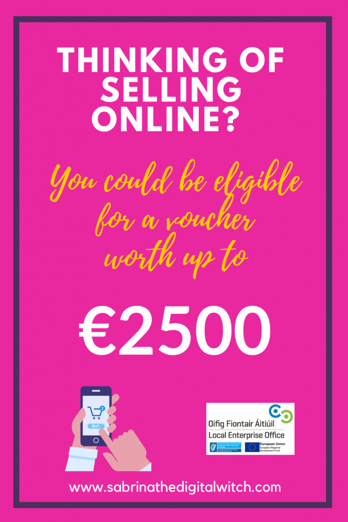 Online Trading Voucher - Local Entreprise Office - LEO Ireland