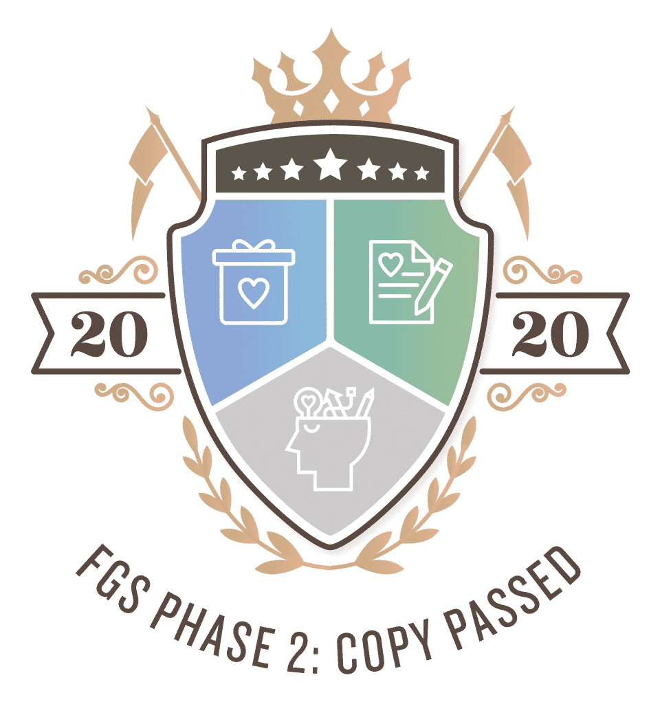 Funnel Gorgeous Society Certification - Phase 2 - Copywriting - Direct repsonse