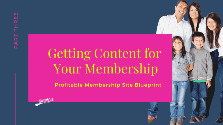 Read more about the article Content Creation: The lifeblood Of Your Membership Site.