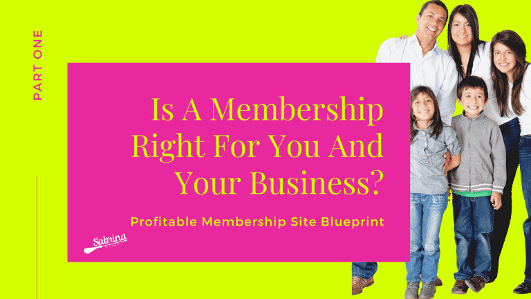 Read more about the article Is A Membership Right For You And Your Business?