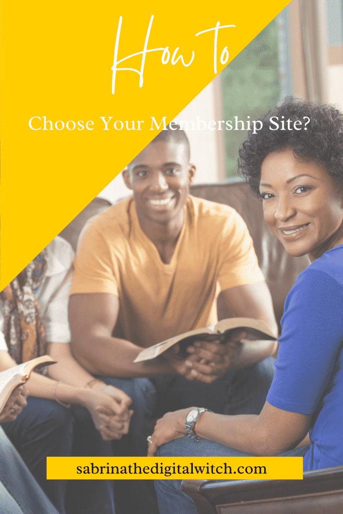 How to choose my membership site type?
