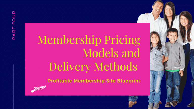 Read more about the article Membership Pricing Models and Delivery Methods