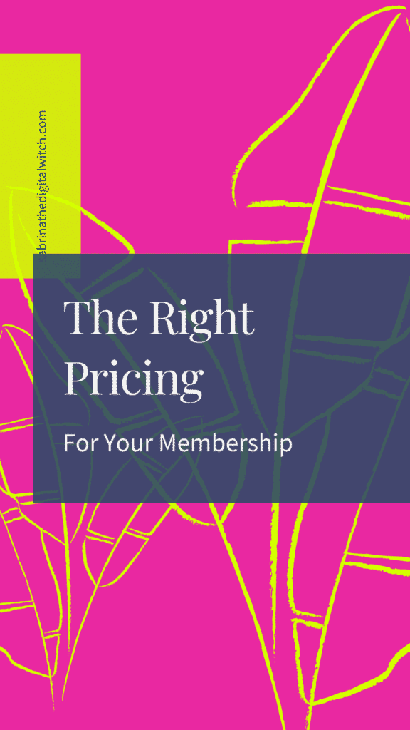 What s the best price for your membership?